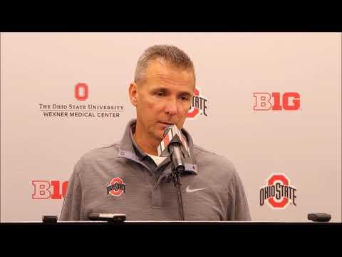 Ohio State head coach Urban Meyer 9/18/17 - ELEVENWARRIORS.COM