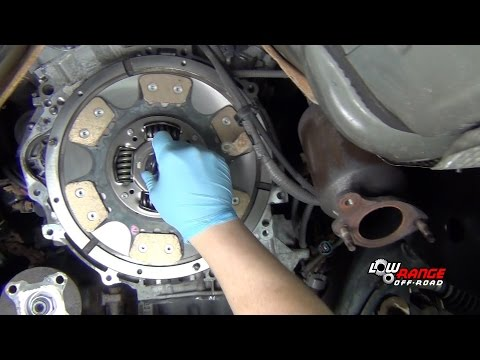 How to Install a Ceramic Clutch on a 2007-2014 Toyota FJ Cruiser