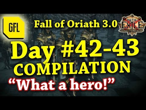 Path of Exile 3.0 Fall of Oriath: DAY #42-43 Compilation and Highlights from Youtube and Twitch