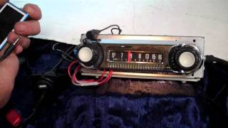 1964 Ford F100 Original AM Radio