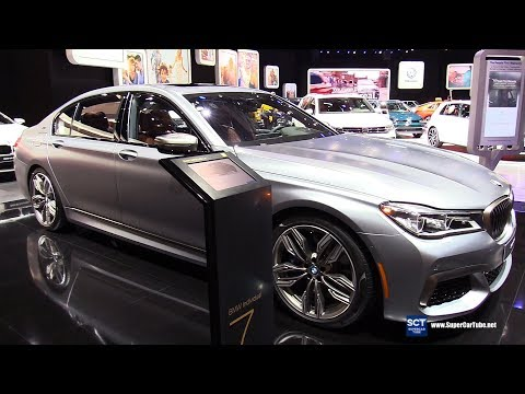 2018 BMW 7 Series M760i xDrive Sedan - Exterior and Interior Walkaround - 2018 Detroit Auto Show