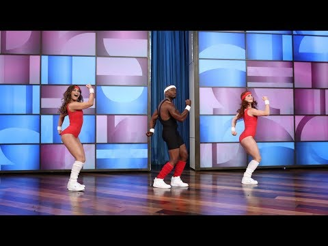 Taye Diggs Gets Physical in Spandex