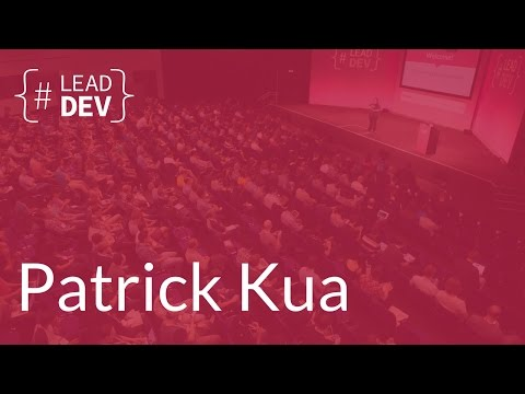 What I wish I knew as a first time Tech Lead – Patrick Kua | The Lead Developer UK 2016