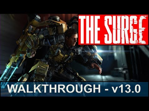The Surge Walkthrough - Part 13 - Continuing through R&D, Codename: Parsifal, Finding Maddy