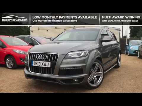 2013 audi q7 3 0 tdi quattro s line for sale car review vlog youtube. Black Bedroom Furniture Sets. Home Design Ideas