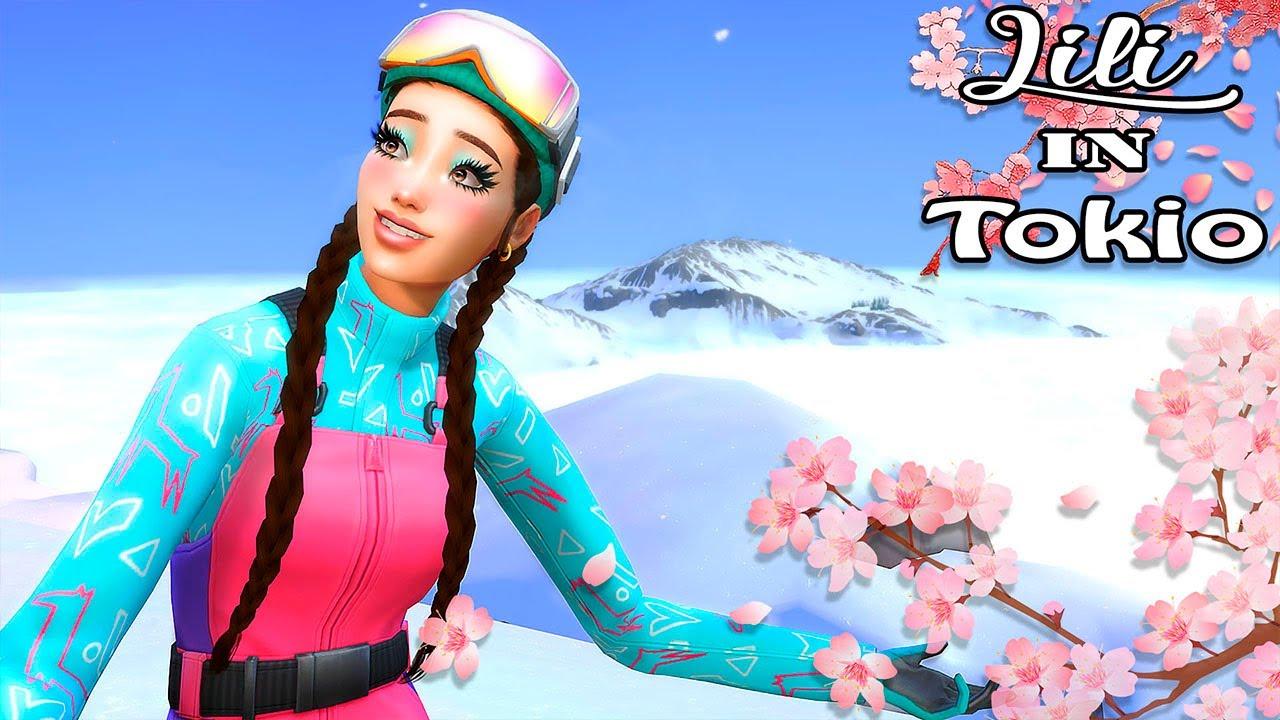 🌸 LLEGO HASTA LAS NUBES!! 🌸 Lili In Tokio ~ Los Sims 4