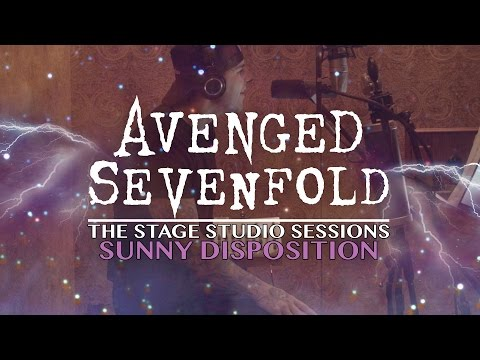 """Avenged Sevenfold: """"The Stage"""" Studio Sessions - """"Sunny Disposition"""" Pt 1."""