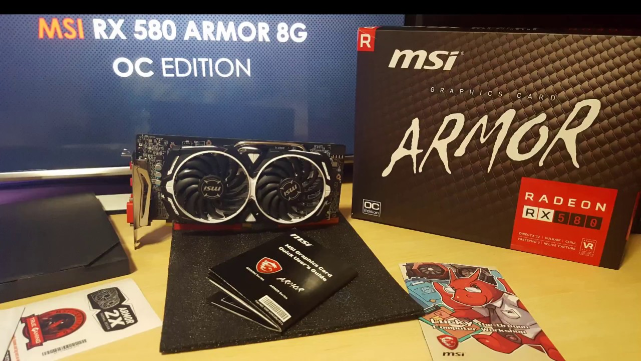msi armor rx 580 8g review+benchmark