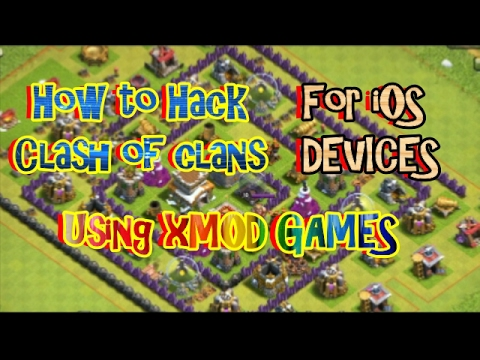 How to Mod / Hack Clash of Clans ( How to Install Xmod Games )