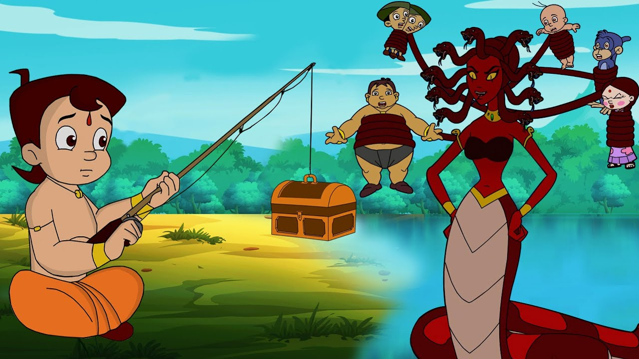 Chhota Bheem - Jadui Raani ka Jaal | जादुई रानी का जाल | Cartoon for Kids in Hindi