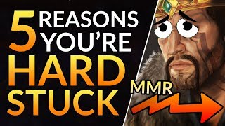 5 Reasons YOU Are HARD-STUCK: Simple tips to gain MMR EVERYONE MUST KNOW | LoL Pro Guide