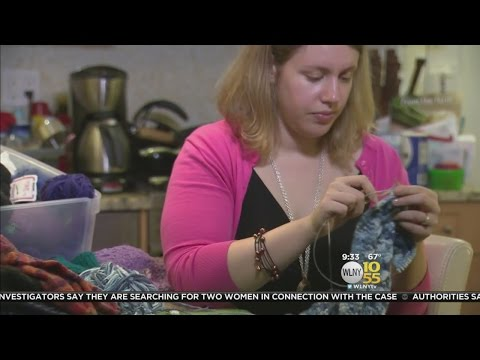 NYC Woman Knits Hats For Refugees Overseas