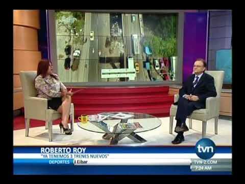 TVN, Roberto Roy, Administrador del Metro de Panamá