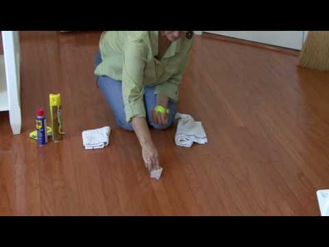 Cleaning Floors How To Remove Scuff Marks From Wood Floors Youtube