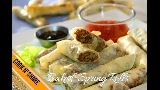 Baked Beef Spring Rolls - Simple and Delicious