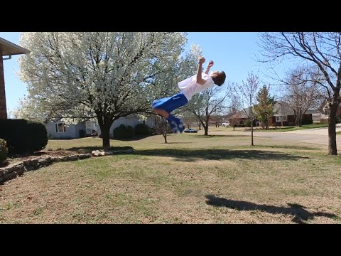How To Do A Backflip On The Ground Without Being Scared (Tutorials Week #5)