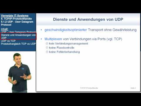 VIT 5.1.2: UDP - User Datagram Protocol | Vernetzte IT-Systeme