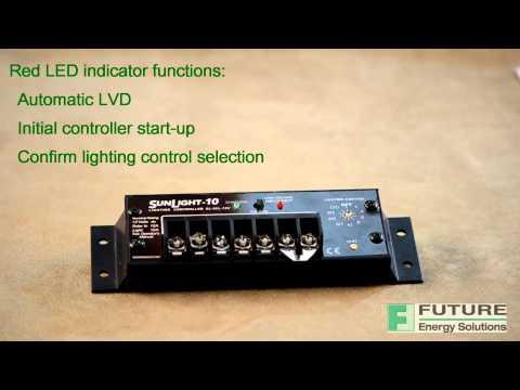 Sunlight Solar Lighting Controller By Morningstar