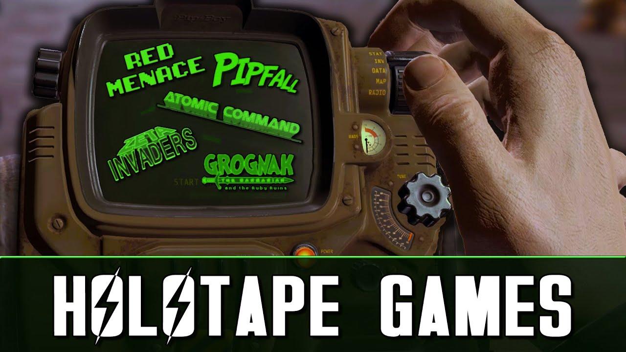 Fallout 4 Pip-Boy holotape games | Windows 10 Mobile