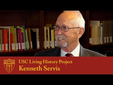 USC Living History Project - Kenneth Servis  (2015)