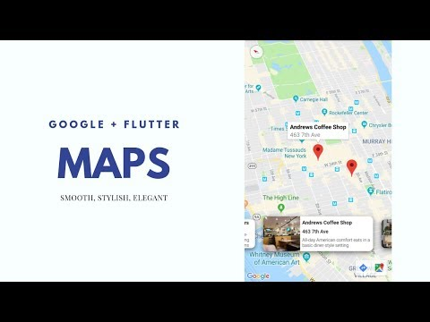 Flutter - Google Maps and cool effects