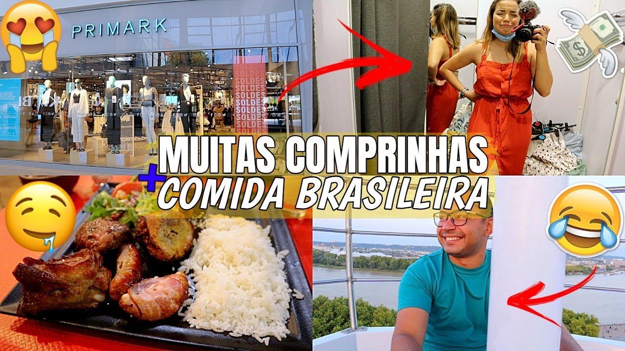 DIA DE COMPRAS NA PRIMARK, RESTAURANTE BRASILEIRO E FOMOS NA RODA GIGANTE ♥ - Bruna Paula