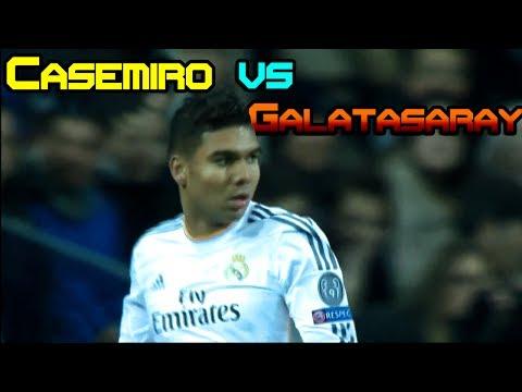 Casemiro vs Galatasaray ( 27.11.2013 / 27-11-2013 / 27/11/2013 ) [HD]