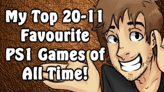 Top 20-11 Favourite PS1 Games of All Time! - Caddicarus