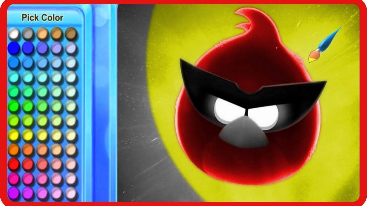 angry birds coloring pages game - photo#34