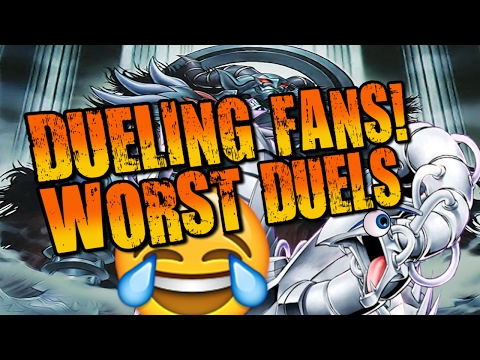 DUELING FANS! (WORST DUELS)