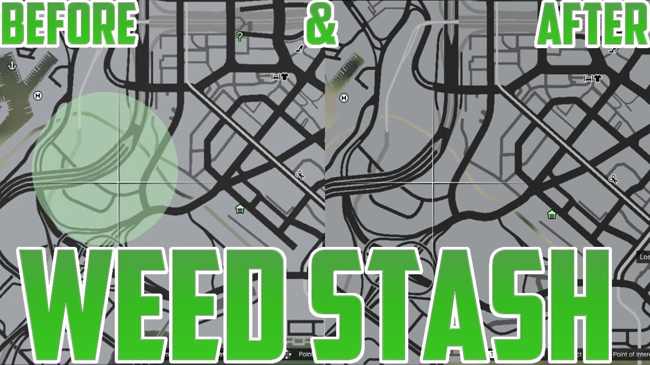 Gta V Barry S Weed Stash 2 Location Guide