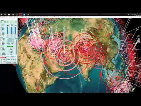 12/13/2017 -- Large (rare) M6.5 Earthquake strikes South Atlantic -- New large EQ coming?