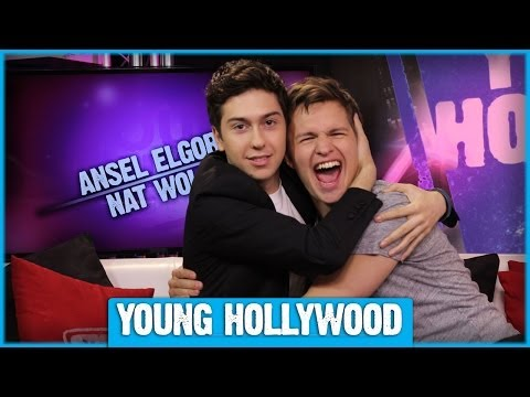 Ansel Elgort & Nat Wolff on THE FAULT IN OUR STARS - YouTube