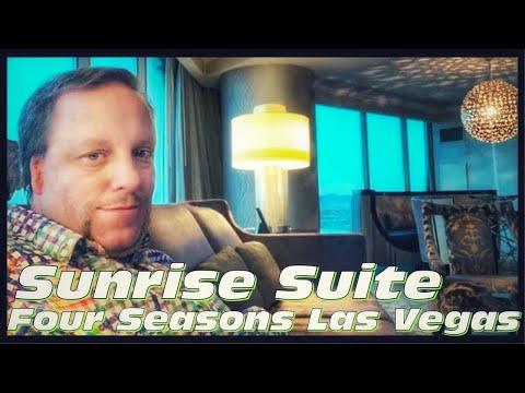 Four Seasons Hotel Las Vegas   Sunrise Suite & View Of Area 51 Secret