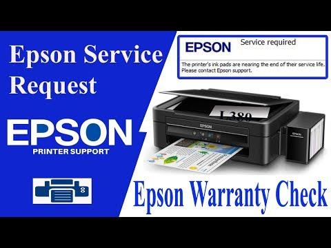 Epson Warranty | Service Request Registration