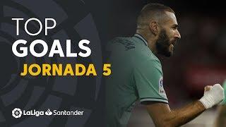 Todos los goles de la Jornada 5 de LaLiga Santander 2019/2020