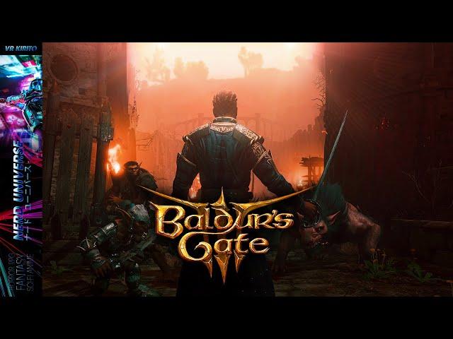 Baldur's Gate 3  | #3 Schwingenherz & Kampf über den Ruinen | Waldläufer Drow ☬ [Deutsch] Livestream