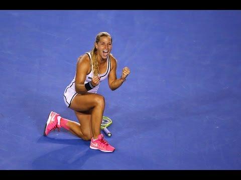 Dominika Cibulkova v Victoria Azarenka highlights (4R) - Australian Open 2015