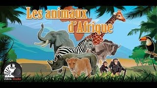 Discover animals of Africa - Android game for children