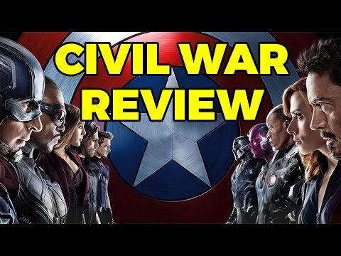 """Captain America: Civil War"" Movie Review (Clip)"