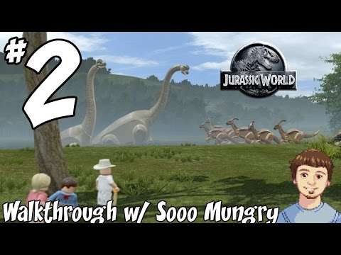 LEGO Jurassic World Walkthrough - PART 2 -  Colonel Sanders & Jurassic Park (PS4, Xbox One Gameplay)