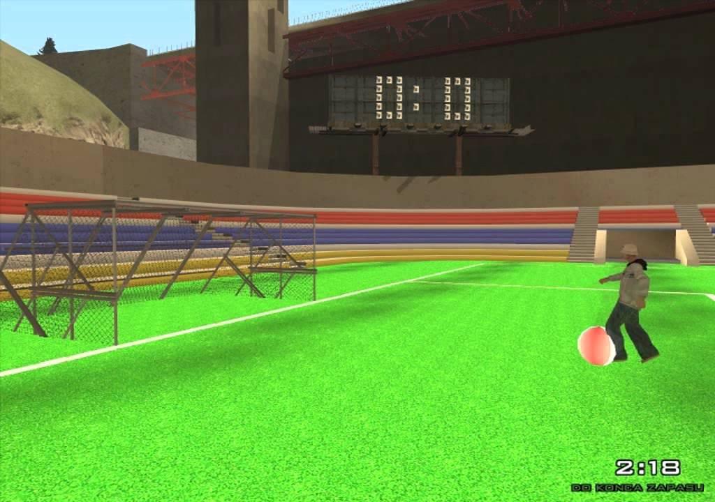 Футбол в самп