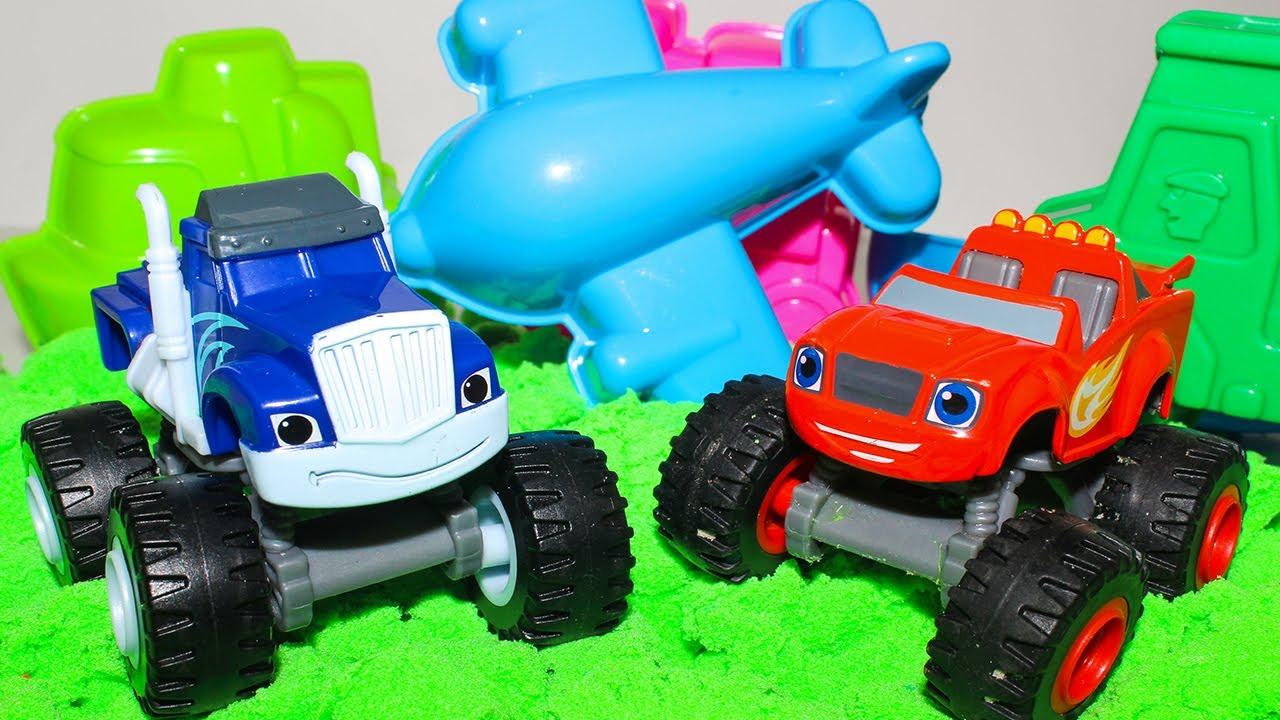 Вспыш и чудо машинки новые серии Игры для детей ...