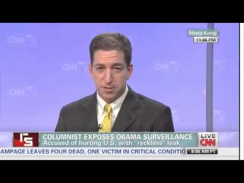 Greenwald on Snowden's revelations