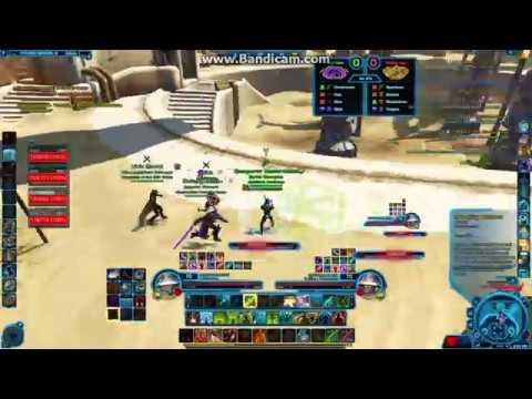 SWTOR 5.3 PVP Ranked Season 8 Match 6  - Bodyguard Mercenary