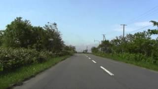 北海道道763号兜沼豊徳線 豊富町兜沼~豊富町豊徳