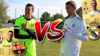 FC BARCELONE VS REAL MADRID FC ! (Le Clasico est de retour)