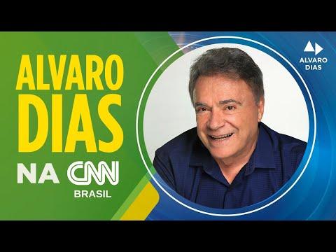 Senador Alvaro Dias fala sobre o STF para o canal CNN