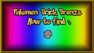 Pokemon Brick Bronze #3 | How to find Spiritomb