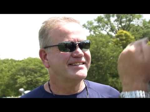 @NDFootball | Brian Kelly Interview (8.5.19)